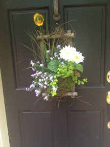 Spring is knocking on the front door!