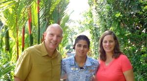 Our new friend, Jose, in Costa Rica