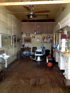 old barber shop in Appalachicola, FL