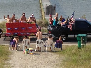4th of July parade at Alligator Point