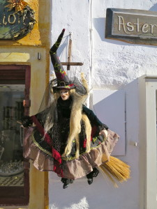 puppet shop in Oia, Greece